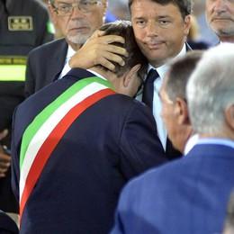 Sisma: Renzi, non vi lasceremo soli