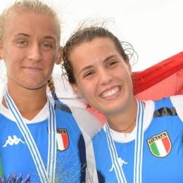 Mondiali di canottaggio Junior  Due ragazze d'oro della Lario