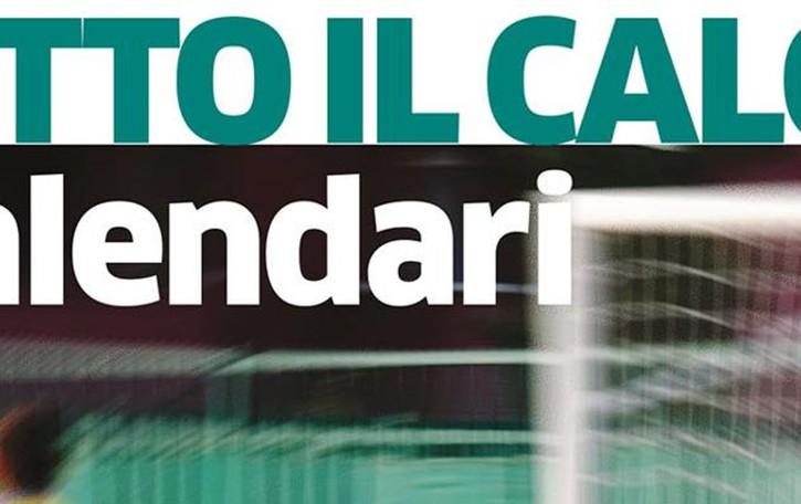 Calcio, inserto calendari  Dalla serie A ai Dilettanti