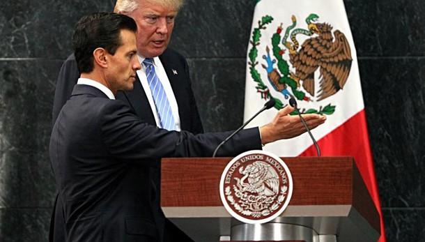 Trump a sorpresa oggi in Messico, nodo immigrazione