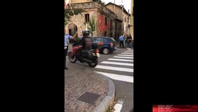 Passaggio a livello in tilt a Sant'Orsola
