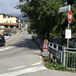 Lipomo, lavori contro gli allagamenti  Via Matteotti chiusa alle auto