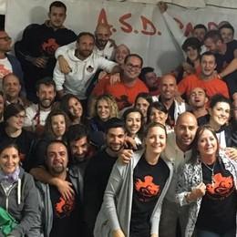 La squadra di calcio vince con il cuore  Cena benefica per settecento a Rodero