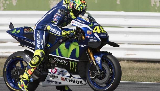 MotoGp, Rossi davanti a tutti nelle prime libere a Misano