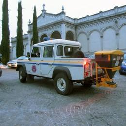 Piano neve a Cantù, i volontari  «Strade pulite, assurde le polemiche»