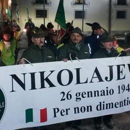 Olgiate, quattrocento in corteo  Per non dimenticare Nikolajewka