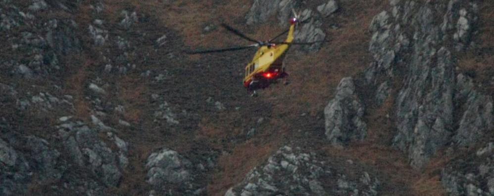 Ragazza precipita per 150 metri  Soccorsa con l'elicottero, è grave