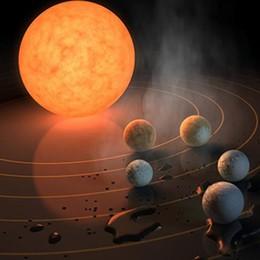 La scoperta: sette pianeti  simili a Terra, tre forse con acqua