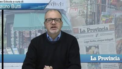 Video Edicola/Prima Pagina del 23 febbraio 2017