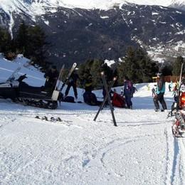 Giovane investito sulle piste a Bormio: ritirato lo skipass a sciatore per la velocità