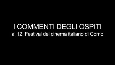Festival del cinema, le interviste agli ospiti