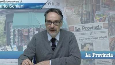 Video Edicola/Prima Pagina de La Provincia del 7 febbraio 2017