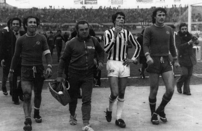 Silvano Fontolan (utlimo a sinistra)