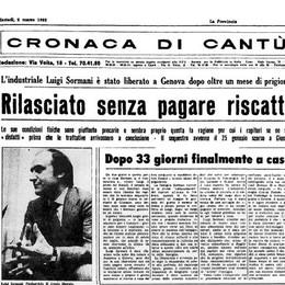 Morto l'industriale Luigi Sormani  Fu rapito dall'anonima nel 1982