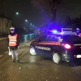 Controlli dei carabinieri Menaggio,  caccia dei ladri