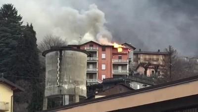 L'incendio di Sormano