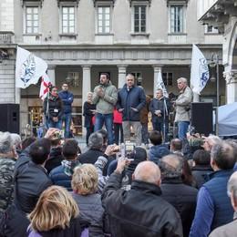 Salvini: «Cinque anni di nulla  e si inventano Traglio»
