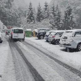 Gradine e neve, poi le schiarite  Incidenti in Valle Intelvi   GUARDA IL VIDEO