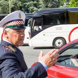 Boom di visitatori sui pullman turistici  Como,  in Comune c'è il piano anti caos