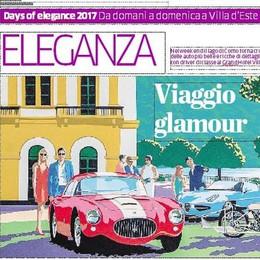 Concorso d'eleganza Villa d'Este Auto da sogno nel weekend