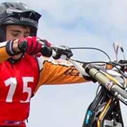 Tappa mondiale trial in Francia  Gandola si piazza secondo