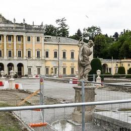 Villa Olmo, parco chiuso tutta l'estate