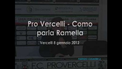 Pro Vercelli-Como: Ramella