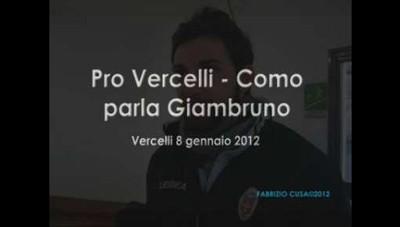 Pro Vercelli-Como: Giambruno