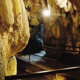 Apertura delle grotte di Rescia  Da Osteno discesa   nella preistoria