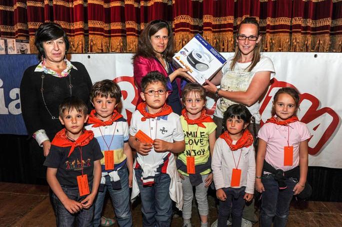 Como premiazione Catolandia al Teatro Sociale, Scuola d'Infanzia di Peglio