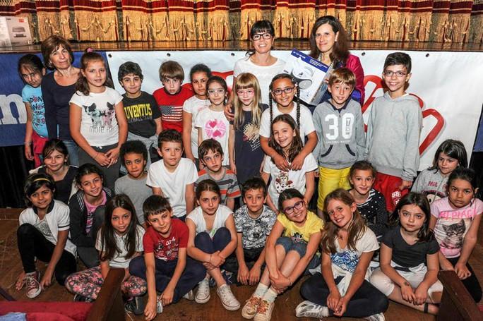 Como premiazione Catolandia al Teatro Sociale, Scuola Adolfo Vacchi di Como