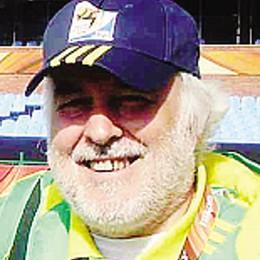 Da Cabiate fino al Brasile  Pensionato steward ai Mondiali