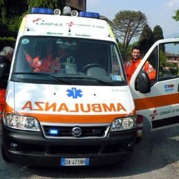 Incidenti di auto e moto  In quattro all'ospedale