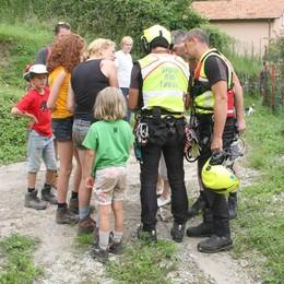 Famiglia dispersa sui monti  Mobilitazione in Val Sanagra
