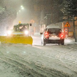 Provincia senza soldi: «Non spaleremo più la neve»
