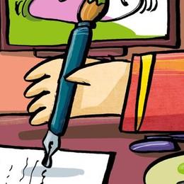 Scrivere e dipingere per leggere la realtà, meglio se a testa in giù