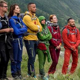 Reality nel segno di Zambrotta  Sul Monte Bianco da protagonista