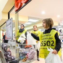 Colletta,  1.500 volontari  Ancora una volta sfida vinta