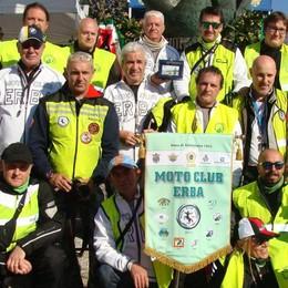 Il Moto Club Erba in trionfo a Civenna