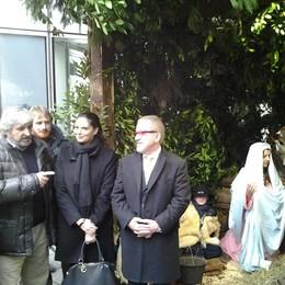 Il presepe vivente di Argegno  in mostra a Palazzo Lombardia