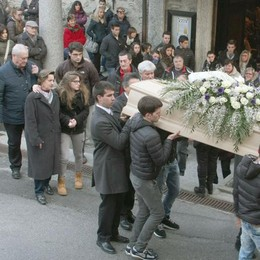 Addio a Gianmarco  Dolore e lacrime