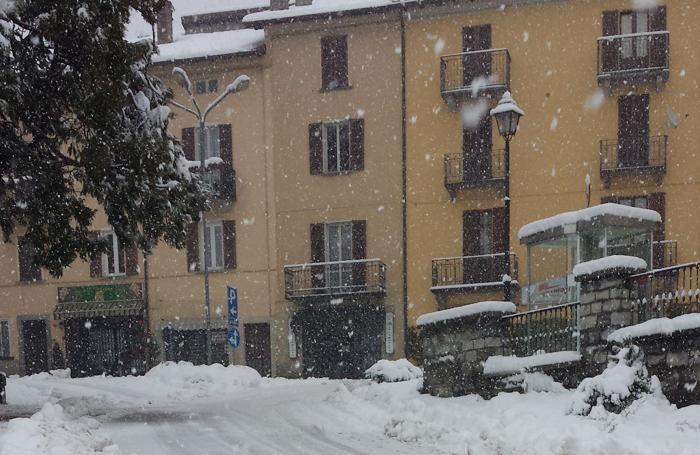San Fedele abbondante nevicata