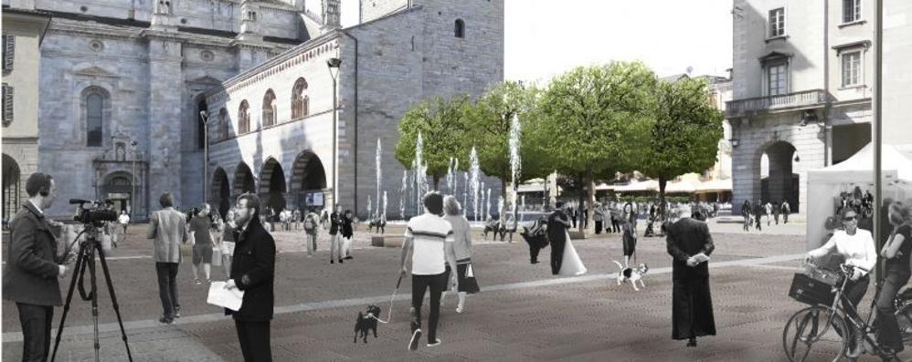 «La fontana ostacola le processioni»  Slitta la nuova piazza Grimoldi