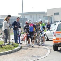 Ciclista investito a Cirimido  Ricoverato in ospedale