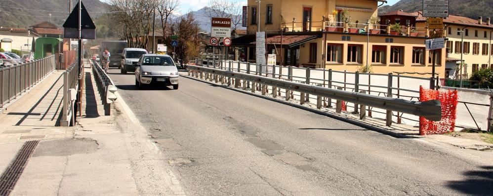 Lavori sul ponte tra Carlazzo e Porlezza  Deviazioni da sabato a giovedì