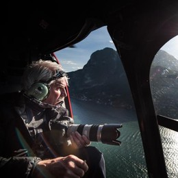 Il lago di Como visto da Bertrand  Ecco il video