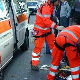 Incidente a Pognana  Motociclista ferito