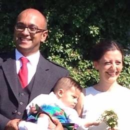 Gravedona, le nozze in kilt  con invitati da 13 nazioni