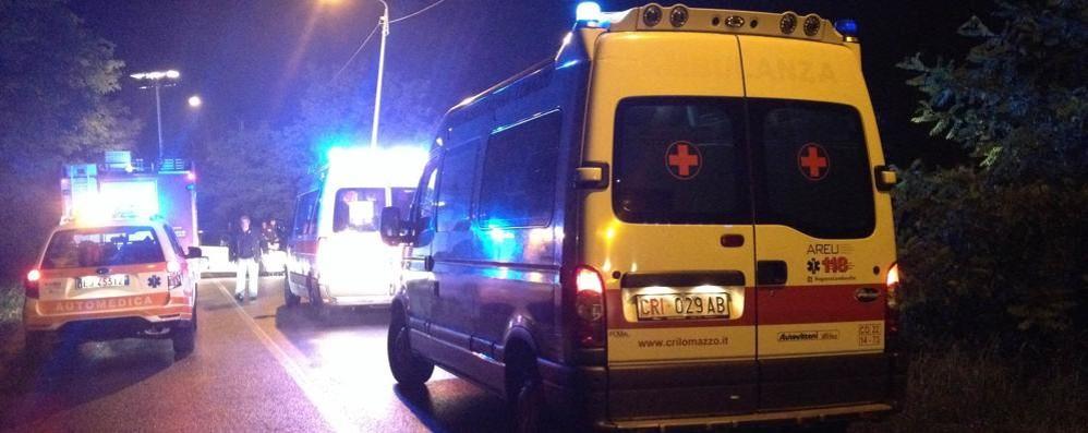 Incidente a Bregnano ferito uomo di 45 anni