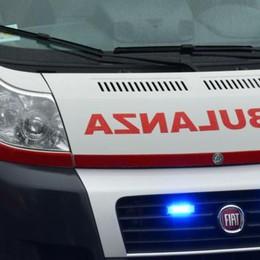 Bambino si scontra a scuola  Ambulanza a Plesio